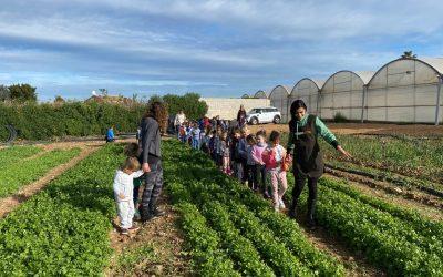 Acercamos la agricultura a los colegios