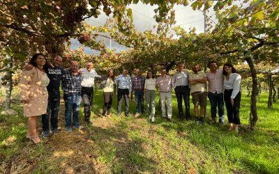 Josep Roca visita Terracor, ganadora del premio a los Mejores Productores Sostenibles de BBVA